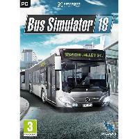Jeu Pc Bus Simulator 18 Jeu PC - Just For Games