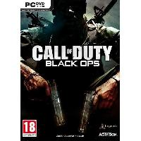 Jeu Pc Call of Duty Black Ops Jeu PC - Just For Games