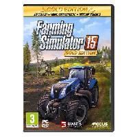 Jeu Pc Farming Simulator 15 Gold Jeu PC - Focus