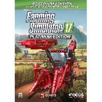 Jeu Pc Farming Simulator 17 Edition Platinium Jeu PC - Focus