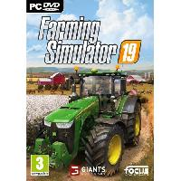 Jeu Pc Farming Simulator 19 Jeu PC - Focus