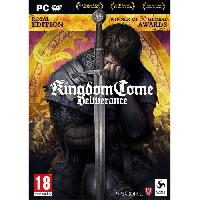 Jeu Pc Kingdom Come Deliverance - Royal Edition - Game Of The Year Jeu PC - Deep Silver