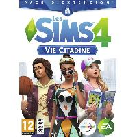 Jeu Pc Les Sims 4 Vie Citadine Jeu PC - Electronic Arts