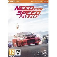 Jeu Pc Need For Speed Payback Jeu PC - Electronic Arts