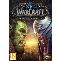 Jeu Pc World of Warcraft Extension: Battle for Azeroth Jeu additionnel PC - Activision