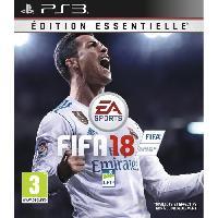 Jeu Playstation 3 FIFA 18 Edition Essentielle Jeu PS3 - Electronic Arts