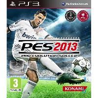 Jeu Playstation 3 PES 2013 - Jeu PS3 - Konami