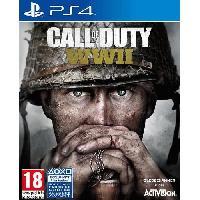 Jeu Playstation 4 Call of duty World War II Jeu PS4 - Activision