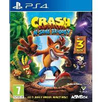 Jeu Playstation 4 Crash Bandicoot N-SANE Trilogy Jeu PS4 - Activision