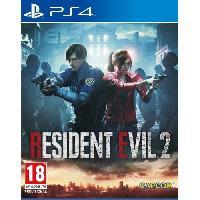 Jeu Playstation 4 Resident Evil 2 Jeu PS4 - Capcom