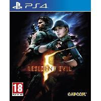 Jeu Playstation 4 Resident Evil 5 Jeu PS4 - Capcom