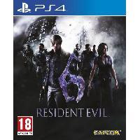Jeu Playstation 4 Resident Evil 6 Jeu PS4 - Capcom