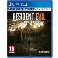 Jeu Playstation 4 Resident Evil 7 Biohazard Jeu PS4 - Capcom