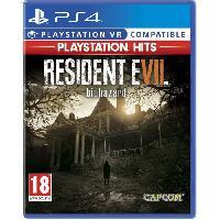 Jeu Playstation 4 Resident Evil 7 Playstation Hits Jeu PS4 - Capcom