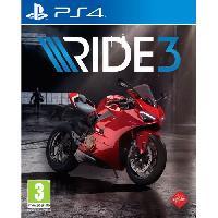 Jeu Playstation 4 Ride 3 Jeu PS4 - Bandai Namco Entertainment