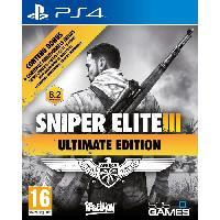 Jeu Playstation 4 Sniper Elite III Ultimate Edition Jeu PS4 - 505 Games