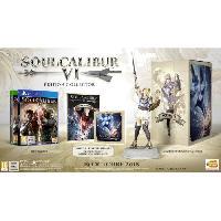 Jeu Playstation 4 SoulCalibur VI Collector Jeu PS4 - Bandai Namco Entertainment