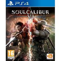 Jeu Playstation 4 SoulCalibur VI Jeu PS4 - Bandai Namco Entertainment