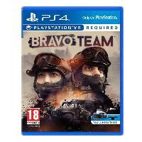Jeu Playstation Vr Bravo Team Jeu VR