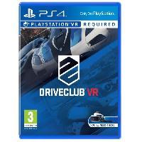 Jeu Playstation Vr Drive Club Jeu PlayStation VR