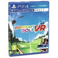 Jeu Playstation Vr Everybody's Golf PS VR Jeu VR - Sony Computer Entertainment