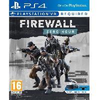 Jeu Playstation Vr Firewall - Zero Hour Jeu VR