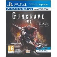 Jeu Playstation Vr Gungrave VR The Loaded Coffin Edition Jeu PS4