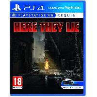 Jeu Playstation Vr Here They Lie Jeu PlayStation VR