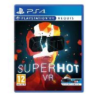 Jeu Playstation Vr Superhot VR Jeu VR