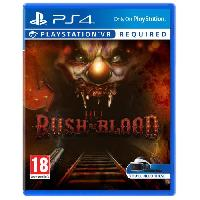 Jeu Playstation Vr Until Dawn Rush of Blood Jeu PlayStation VR