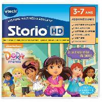 Jeu Pour Console Educative VTECH - Jeu Educatif Storio - Dora Et Ses Amis