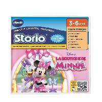 Jeu Pour Console Educative VTECH - Jeu Educatif Storio - La Boutique de Minnie
