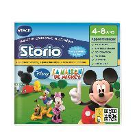 Jeu Pour Console Educative VTECH - Jeu Educatif Storio - La Maison De Mickey