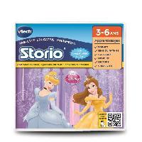 Jeu Pour Console Educative VTECH - Jeu Educatif Storio - Les Princesses Disney