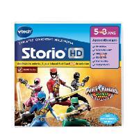 Jeu Pour Console Educative VTECH - Jeu Educatif Storio - Power Rangers