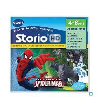 Jeu Pour Console Educative VTECH - Jeu Educatif Storio - Spiderman