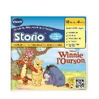 Jeu Pour Console Educative VTECH - Jeu Educatif Storio 2 - Winnie l'Ourson