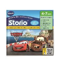 Jeu Tablette - Console Educative VTECH - Jeu Educatif Storio - Cars 2