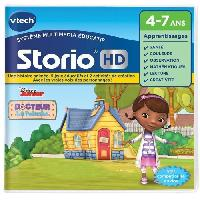 Jeu Tablette - Console Educative VTECH - Jeu Educatif Storio - Doc La Peluche