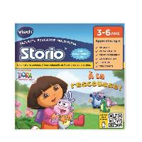 Jeu Tablette - Console Educative VTECH - Jeu Educatif Storio - Dora L'Exploratrice