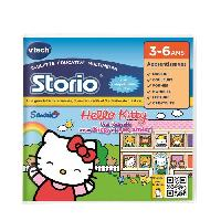 Jeu Tablette - Console Educative VTECH - Jeu Educatif Storio - Hello Kitty