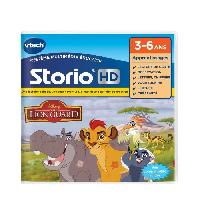 Jeu Tablette - Console Educative VTECH - Jeu Educatif Storio - La Garde Du Roi Lion