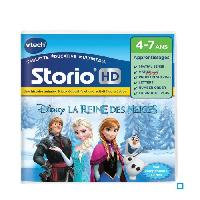 Jeu Tablette - Console Educative VTECH - Jeu Educatif Storio - La Reine Des Neiges