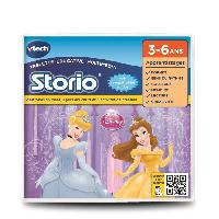 Jeu Tablette - Console Educative VTECH - Jeu Educatif Storio - Les Princesses Disney