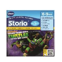 Jeu Tablette - Console Educative VTECH - Jeu Educatif Storio - Les Tortues Ninja