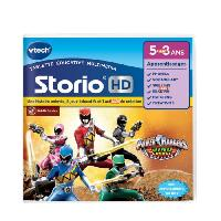 Jeu Tablette - Console Educative VTECH - Jeu Educatif Storio - Power Rangers