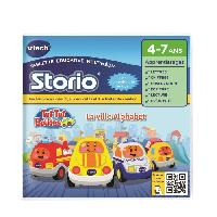 Jeu Tablette - Console Educative VTECH - Jeu Educatif Storio - Tut Tut Bolides Ma Ville Alpha