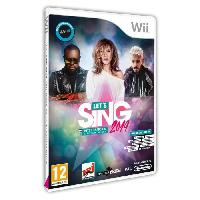 Jeu Wii Let's Sing 2019 Hits francais et internationaux Jeu Wii - Koch Media