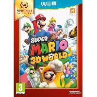 Jeu Wii U Super Mario 3D World Select Jeu Wii U - Nintendo