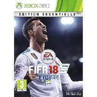 Jeu Xbox 360 FIFA 18 Edition Essentielle Jeu Xbox 360 - Electronic Arts